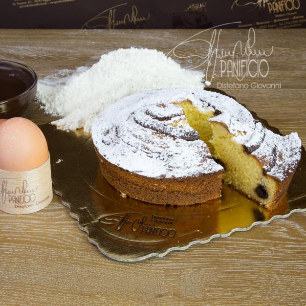 torta pan di spagna e cioccolato