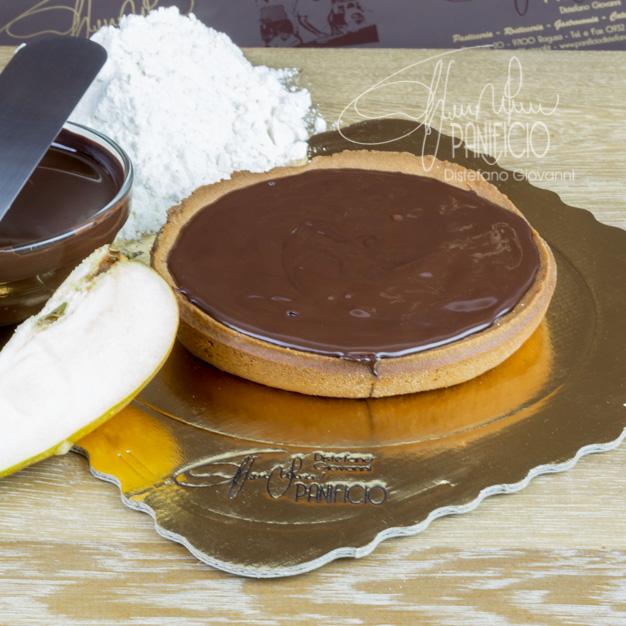 totrtina cioccolato e pera