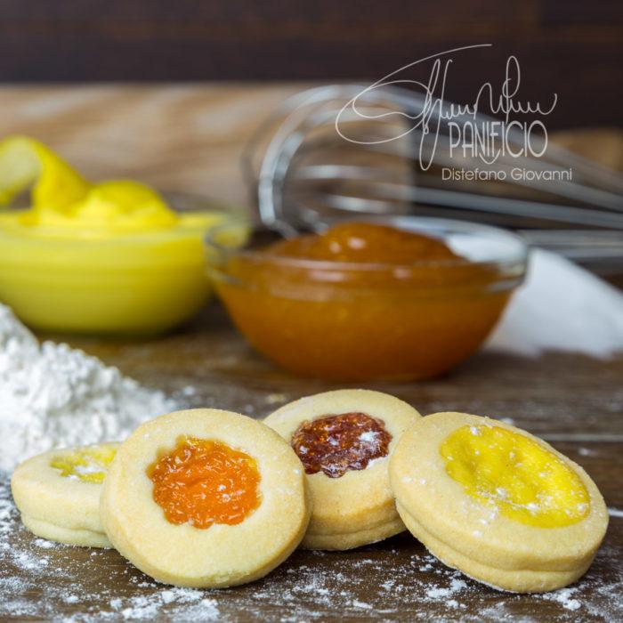 biscotti dessert marmellate