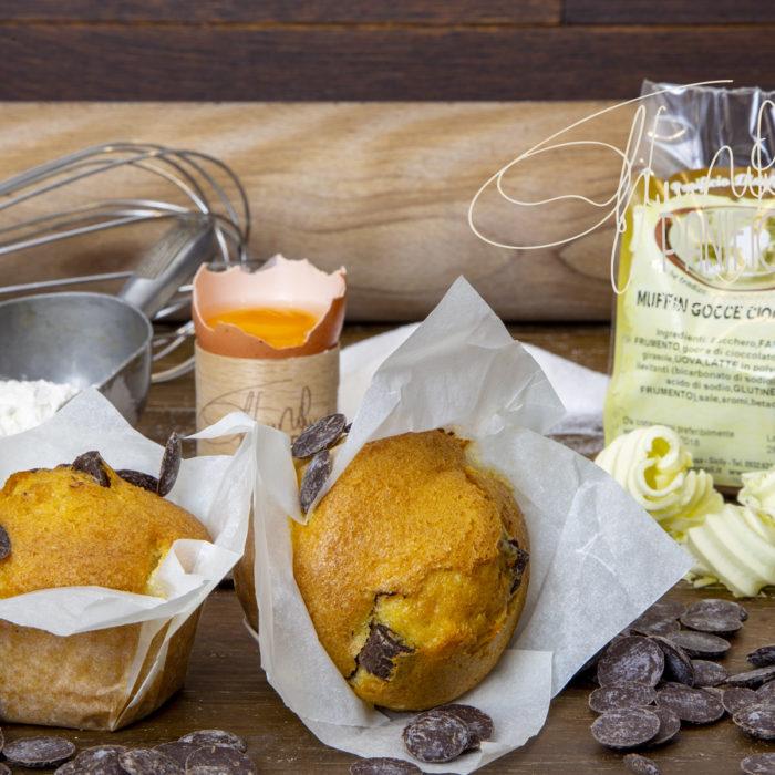 muffin gocce ciccolato